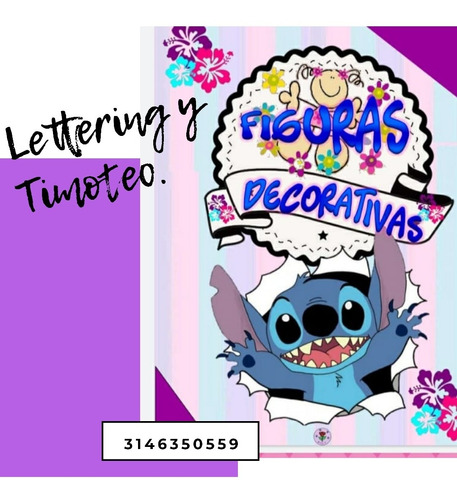 clases online, lettering y timoteo.