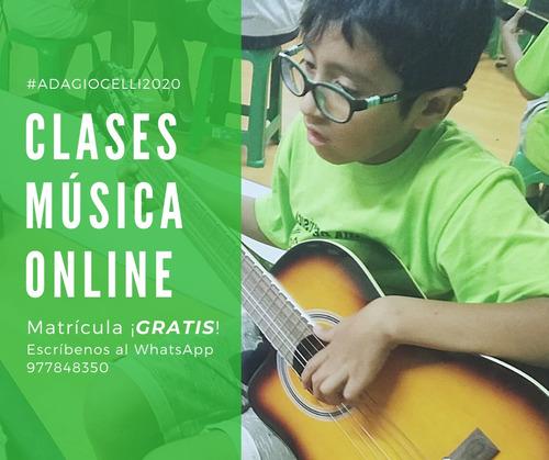 clases online - música 2020
