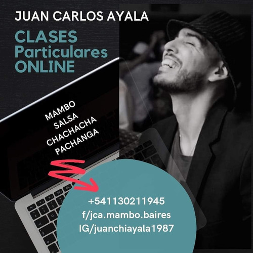 clases online salsa, mambo, chachacha y/o pachanga