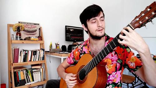 clases online y presenciales de guitarra eléctrica y criolla