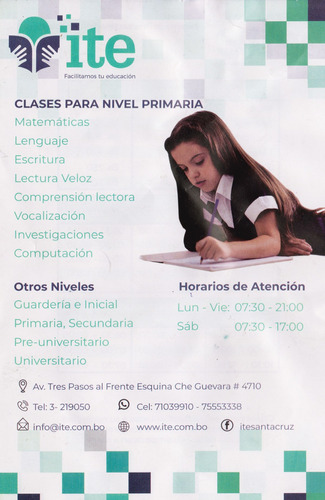 clases para nivel secundaria