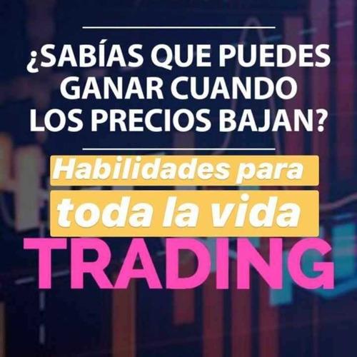 clases para operar y ser rentable en mercados bursátiles!
