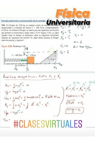 clases particulares: análisis matemático, química, física