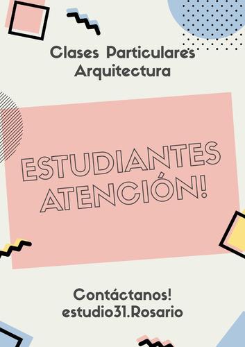 clases particulares arquitectura