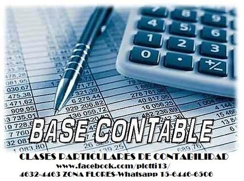 clases particulares contabilidad