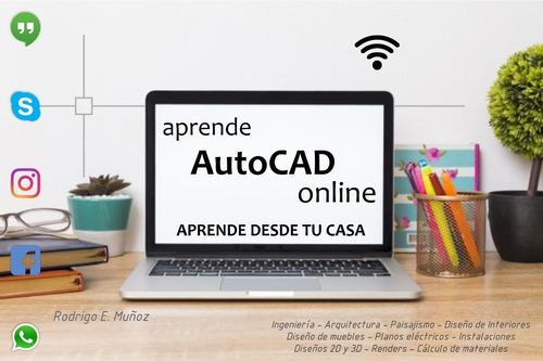 clases particulares de autocad - online