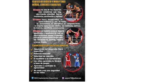 clases particulares de boxeo niños jovenes adultos