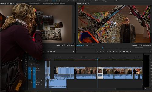 clases particulares de edición de video en premiere. cursos