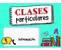clases particulares de español y matemáticas
