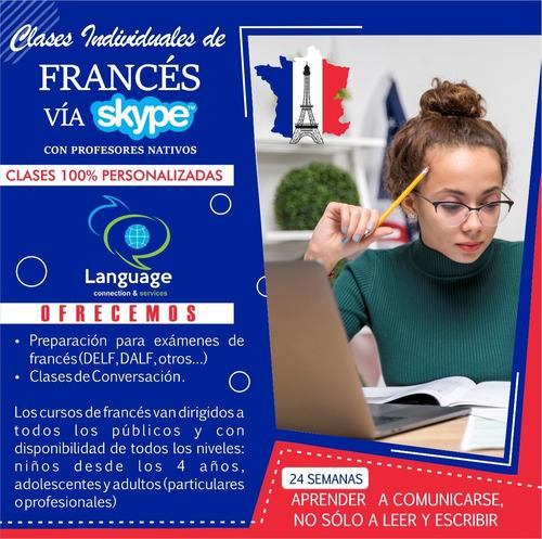 clases particulares de francés  (profesores  nativos)