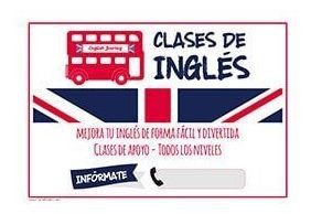 clases particulares de ingles!