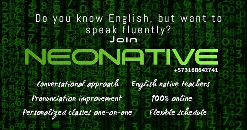 clases particulares de inglés conversacional con nativos