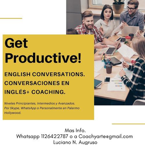 clases particulares de inglés. conversaciones.