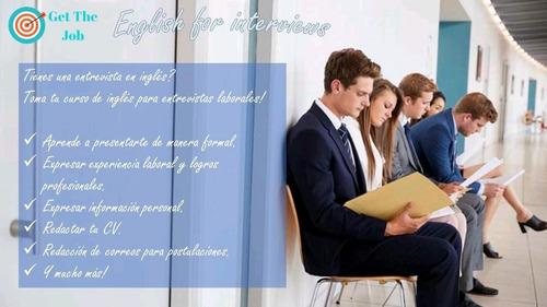 clases particulares de inglés de negocios.
