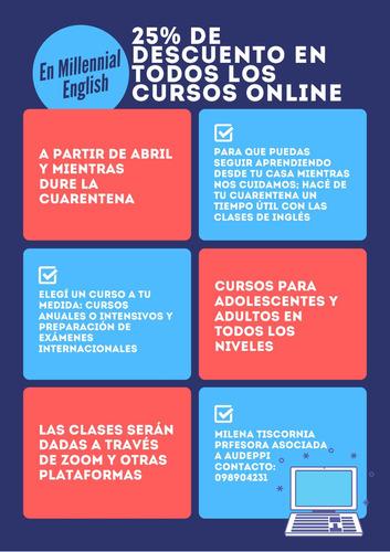 clases particulares de inglés online