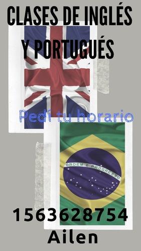 clases particulares de inglés y portugués