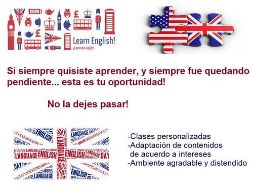 clases particulares de inglés y preparación exámenes- sayago