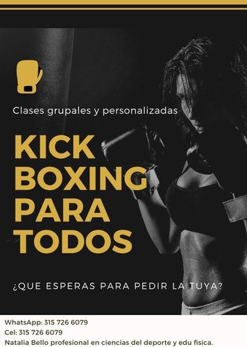 clases particulares de kick boxing a domicilio