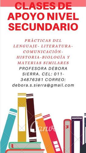 clases particulares de lengua, literatura y otras materias