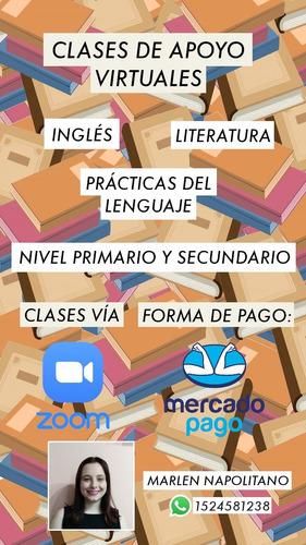 clases particulares de lengua/literatura e inglés