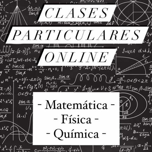 clases particulares de matemática - física (online)