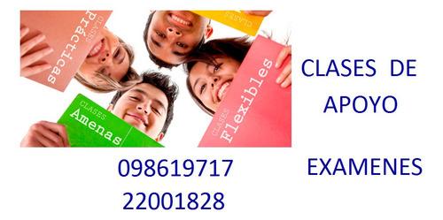 clases particulares de matemática, física y química.  cordon