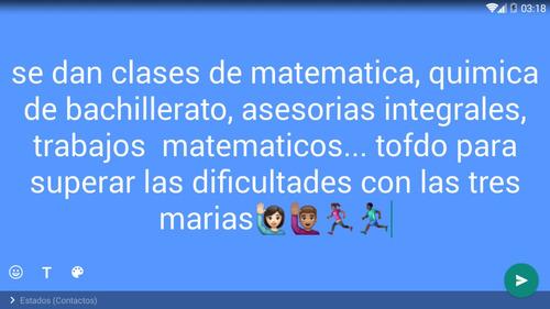 clases particulares de matematica y fisica a domicilio
