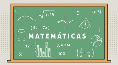 clases particulares de matemáticas a domicilio s/15 por hora