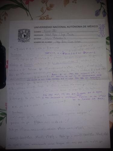 clases particulares de matemáticas (cualquier nivel)