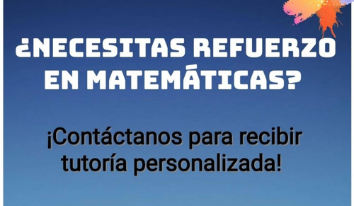 clases particulares de matemáticas para todos los niveles.