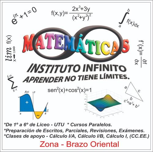 clases particulares de matemáticas y cálculo