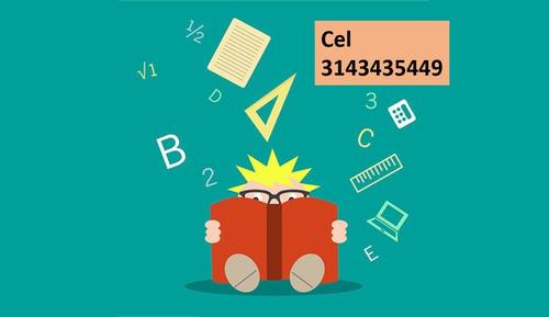 clases particulares de matemáticas y física.