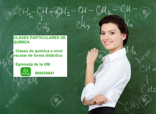 clases particulares de química para nivel escolar