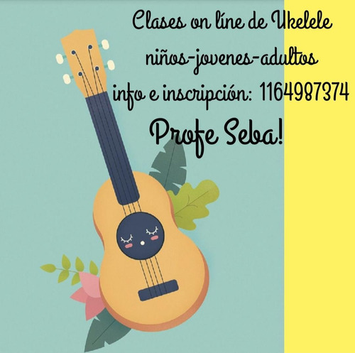 clases particulares de ukelele