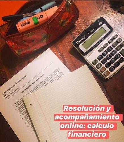 clases particulares estadística calculo finac contabilidad