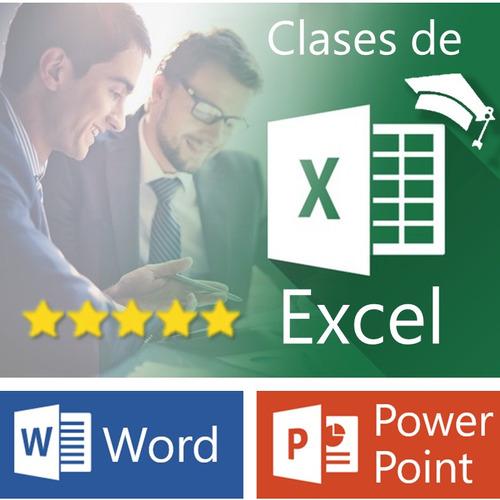clases particulares excel word powerpoint macros a domicilio