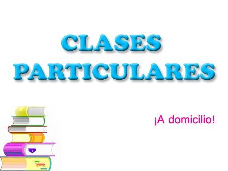 clases particulares: física, matemáticas y mucho más.