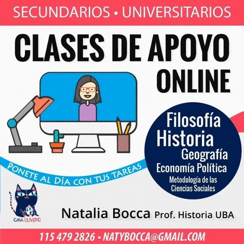 clases particulares - historia