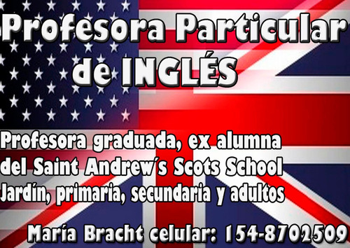 clases particulares inglés olivos