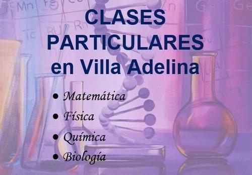clases particulares: matemática-física-química-biología