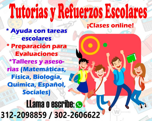 clases particulares online de primaria y bachillerato