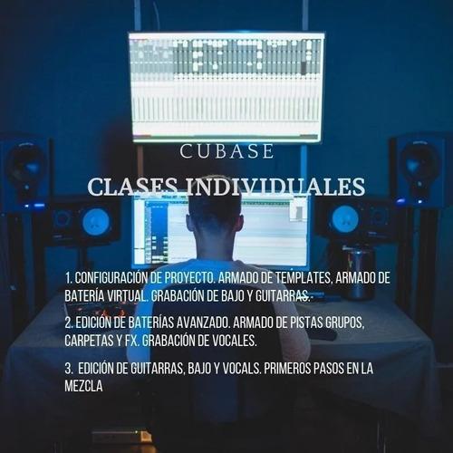 clases particulares online producción musical, grabación etc