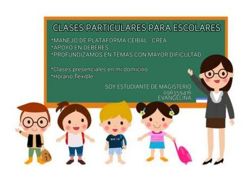 clases particulares para escolares