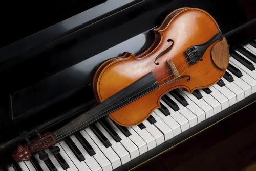 clases particulares piano/violín todas las edades.