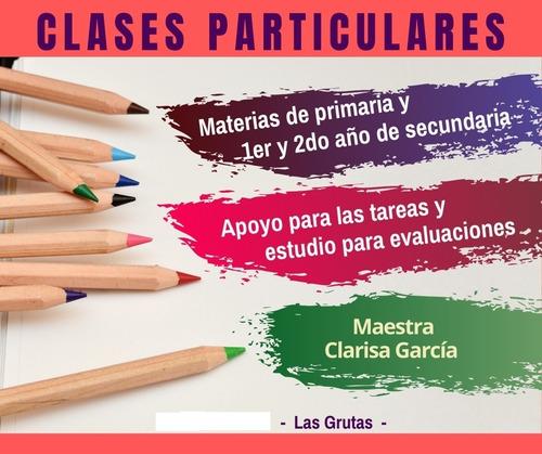 clases particulares primaria online matemática / escritura
