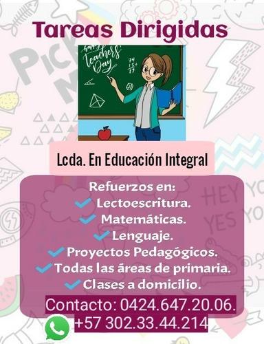 clases particulares (primaria) tareas dirigidas
