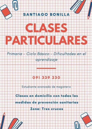 clases particulares primaria y ciclo básico