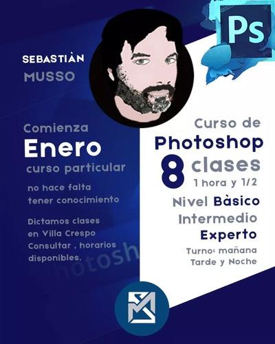 clases particulares y cursos de fotografía.y photoshop.