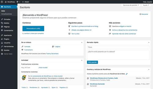 clases personalizadas de diseño web profesional en worpress