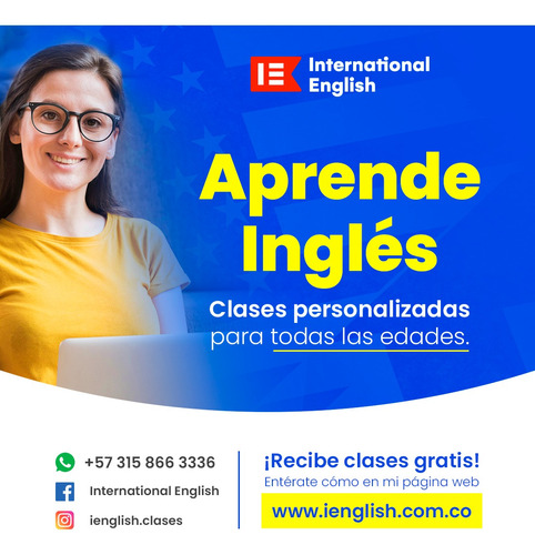clases personalizadas de inglés británico y americano